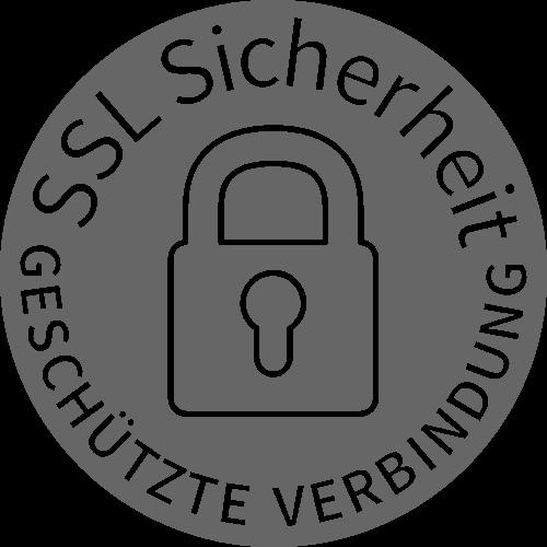 256 Bit Verschlüsselungsstäre mit SSL